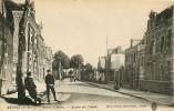 ARDRES - Entrée Avec Gendarmes En Uniforme - Avenue Des Tilleuls - Edit. Baras Willay - 2 Scans - Ardres