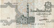BILLETE DE EGIPTO DE 25 PIASTRES (BANK NOTE) - Egipto