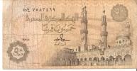 BILLETE DE EGIPTO DE 50 PIASTRES (BANK NOTE) - Egipto