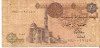 BILLETE DE EGIPTO DE 1 POUND  (BANK NOTE) - Egipto