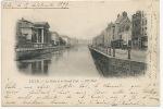 Lille 3 La Deule Et Le Grand Pont ND Phot Timbrée 1899 Vers Recy Sur Ource Cachet - Lille