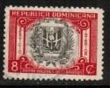 DOMINICAN REPUBLIC   Scott #  G 8  VF USED - Dominican Republic