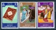 British Virgin Islands 1977 25th Anniv. Of The Reign Of Elizabeth II. MNH** - Lot. 885 - British Virgin Islands