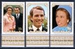 Cook Islands 1973 Wedding Of Princess Anne  MNH** - Lot. 926 - Cook