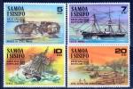 Samoa 1970 The Great Apia Hurricane, Ships MNH** - Lot. 946 - Samoa