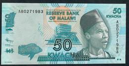 MALAWI      P58       50    KWACHA    2012     UNC. - Malawi