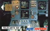 TELECARTE    AIR INTER 1  (D 216) - Francia