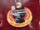 Magnet  PUB   SAPEURS  POMPIERS  (résine) - Magnets