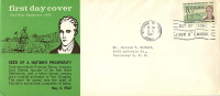 1962  Red River Settlement  Sc 397  Schering  English Text Cachet - First Day Covers