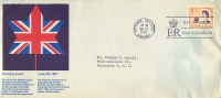 1967  Queen's Visit To Canada   Sc 471  Schering  English  Text Cachet - Primi Giorni (FDC)