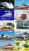 JOLI LOT De 90 CARTES PREPAYEES DIFFERENTES Japon (LOT 207)  TRAIN * DIFFERENT Japan CARDS - ZUG KARTEN - Tarjetas Telefónicas