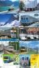JOLI LOT De 90 CARTES PREPAYEES DIFFERENTES Japon (LOT 220)  TRAIN * DIFFERENT Japan CARDS * ZUG KARTEN - Schede Telefoniche