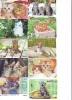 LOT 50 Telecartes + Prepayees Differentes Japon * CHATS * CATS  * KATZE * KATTEN (LOT 235) Prepaid Cards Japan - Verzamelingen