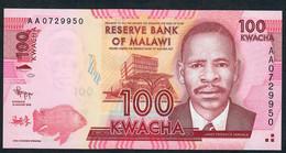 MALAWI      P59       100    KWACHA    2012     UNC. - Malawi