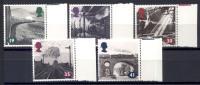 Gran Bretagna 1994 Unif. 1730/34 **/ MNH VF - 1952-.... (Elisabetta II)