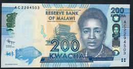 MALAWI      P60       200    KWACHA    2012     UNC. - Malawi