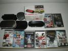 CONSOLE PSP SLIM + Jeux + Accessoires - Consoles