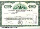 Certificate Of Stoc,20.09.1979 - Bank & Versicherung