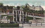 AK UNGARN HUNGARY BUDAPEST BURGGARTEN    OLD POSTCARD 1910 - Ungarn