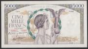 """5000 Francs Victoire - Fay: 46/16 """"impression à Plat"""" Du 12-12-1940 En TTB+ - 1871-1952 Anciens Francs Circulés Au XXème"""