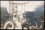 CARTE PHOTO : LE CARNAVAL DE CHALON CHAR DE LA REINE ATTELAGE 71 SAONE-ET-LOIRE - France