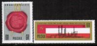 POLAND    Scott #  1317-8**  VF MINT NH - 1944-.... Republic