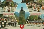 Procession à Gruyères - Folklore, Costumes - Christianisme