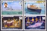 Anguilla 1977 25th Anniv. Of Reign Of Queen Elizabeth II MNH** - Lot. 973 - Anguilla (1968-...)