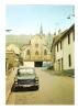 CPA - 57 - Moselle - Rosselange : Rue De La Gare Et Eglise Paroissiale St Georges : église, Voitures - France