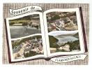 CPA - 39 - Jura -   Claivaux Les Lacs : Souvenir De ..Multivues Aériennes  : Le Grand Lac, Place De L'Eglise , Rue Neuve - Clairvaux Les Lacs