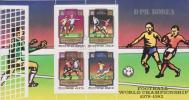 COREA DEL NORTE  /  KOREA-NORTH  Block FOOTBAL WORLD CHAMPIONSHIP    S-893 - Copa Mundial