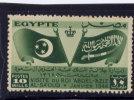 EGYPT, 1946,    # 256 , FLAGS Of EGYPT & SAUDI ARABIA. VISIT Of SAUDI KING  MNH - Égypte