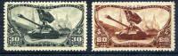 SOVIET UNION 1946 Tank Regiments Day Set MNH / **.  Michel 1064-65 - 1923-1991 USSR
