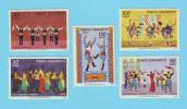 TURQUIE TURKIYE DANSES 1969 / MNH** / AS 258 - 1921-... Republic