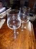 2 Grands Verre Sur Pied Cristal - Glass & Crystal