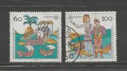 GERMANY 1992 Used Stamp(s)  Europa Serie Complete Nrs. 1608-1609 - [7] Federal Republic