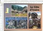 ABIDJAN Le PLATEAU - Village  Guéré - Flutiste Traditionel - 3 Vues - Elfenbeinküste