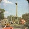 VINTAGE CORK BEER MATS, COASTER BOARD: LONDON IN THE 60TIES,ANIMATED,OLD CARS - Beer Mats