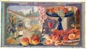 CHROMO   AU PLANTEUR DE CAIFFA  Les Confitures-  Confitures De Peches - Tea & Coffee Manufacturers
