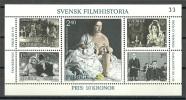 Sweden 1981 ( Swedish Films ) - MNH (**) - Cinema