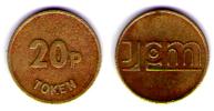 20P TOKEN - Monétaires/De Nécessité
