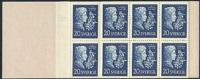 ZWEDEN 1955 Postzegelboekje P.D Atterbom PF-MNH-NEUF - Carnets