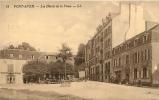 Pont Aven : Les Hôtels Et La Place. 2 Scans. Edition LL - Pont Aven