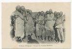 Anjouan Sultanat Groupe De Femmes Bushmen - Comores