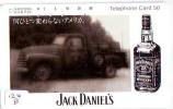 Télécarte Japon * ALCOOL * JACK DANIEL´S * TENNEESSEE WHISKEY (124b) PHONECARD JAPAN * Alcohol *DRANK* DRINK * BEVERAGES - Levensmiddelen