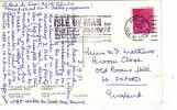 P/HISTORY -MACHINE SLOGAN 1971 - ISLE OF MAN FOR HOLIDAYS ,FREE COLOUR BROCHURE - Isle Of Man