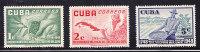 RO)1952,CUBA,SET(3),B ICENT ENARY  OF COFEE CULTIVATION,MNH,EDI 502-504 - Non Classés