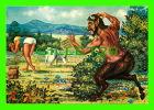 GREECE - PAN,  A TRAGIC DILEMMA - TOUBI'S - GOAT - - Grèce