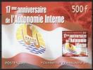 Polynésie Française - 2001 - Yvert N° BF 26 ** - Blocks & Sheetlets