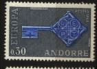 Andorre   N° 188   Neuf **  Cote  15,00 € Au Quart De Cote